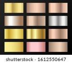 trendy golden  silver  bronze ... | Shutterstock .eps vector #1612550647
