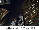 the high rise buildings  | Shutterstock . vector #161255411