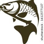 Carp Fishing Logo Template ...