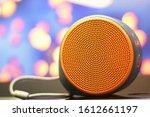 BEAUTIFUL COLORFUL ROUND BLUETOOTH SPEAKER