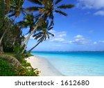 Tropical Scenic - stock photo