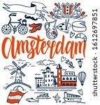 Amsterdam Vector Elements Set....
