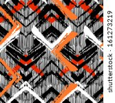 multicolor hand drawn pattern... | Shutterstock .eps vector #161273219