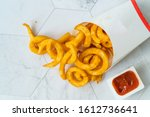 Take Away Curly Fries Ready To...