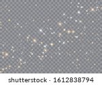 light glow effect stars. vector ... | Shutterstock .eps vector #1612838794