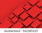 blank empty frame on wall | Shutterstock . vector #161285225