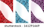 abstract flowers backgrounds in ... | Shutterstock .eps vector #161291669