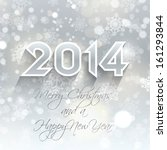 happy new year background with... | Shutterstock .eps vector #161293844