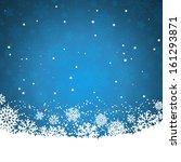 christmas background of... | Shutterstock .eps vector #161293871