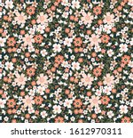 cute floral pattern in the... | Shutterstock .eps vector #1612970311