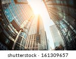 canary wharf  financial... | Shutterstock . vector #161309657