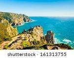 cabo da roca  cape roca  ... | Shutterstock . vector #161313755