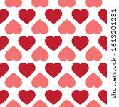 Heart Doodles Seamless Pattern. ...
