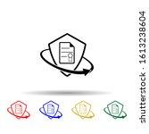 document insurance multi color...