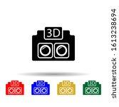 3d camera multi color style...
