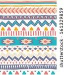 cute aztec print seamless... | Shutterstock .eps vector #161329859