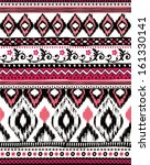 ethnic tribal print seamless... | Shutterstock .eps vector #161330141