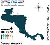vector of political map of... | Shutterstock .eps vector #161339357