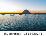 Morro Rock And Fishing Boats A...
