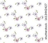 fashionable cute pattern in... | Shutterstock .eps vector #1613442427