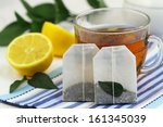 Tea Bags  Tea And Fresh Lemon