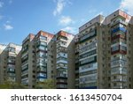 residential buildings in maikop ... | Shutterstock . vector #1613450704