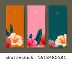 set of banner for branding...   Shutterstock .eps vector #1613480581