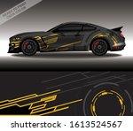 car wrap decal design vector ...   Shutterstock .eps vector #1613524567