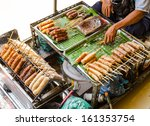 Grilled Thai Sausages On The...