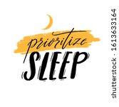 invest in rest. motivational... | Shutterstock .eps vector #1613633164