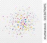 confetti burst vector... | Shutterstock .eps vector #1613670691