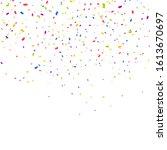 color confetti background.... | Shutterstock .eps vector #1613670697