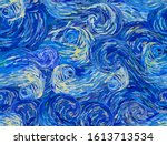 stormy sky abstract background. ... | Shutterstock .eps vector #1613713534
