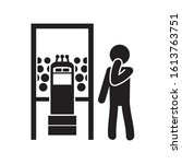 glossophobia the fear of public ...   Shutterstock .eps vector #1613763751