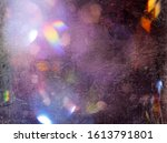 grunge style textured shiny... | Shutterstock . vector #1613791801