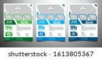 real estate flyer  poster... | Shutterstock . vector #1613805367