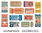 Underground Vintage Tickets...