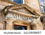 The Museum Sign Above The...