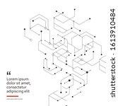 design technology network...   Shutterstock .eps vector #1613910484