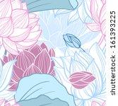Gentle Lotus Flowers Seamless...