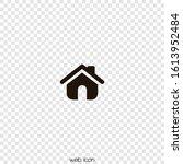 small house. icon vector....