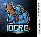 Ogre Mascot Esport Logo Design
