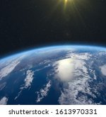 Earth  Sun And Outer Space....
