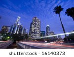 Los Angeles City Traffic  At...