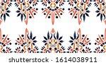 nice native hand drawn ikat... | Shutterstock .eps vector #1614038911