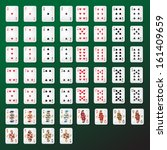 Playing Cards Set   Isolated O...