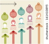 people icons infographic concept | Shutterstock .eps vector #161410895