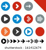 vector illustration of plain... | Shutterstock .eps vector #161412674