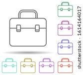 finance case in multi color...