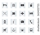 vector city map icons set. | Shutterstock .eps vector #161422721